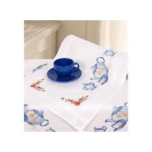 Tea Time Table Runner: Home & Kitchen