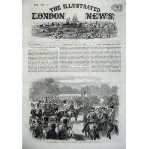 1869 Guards Parade Horse Queens Birthday War Army