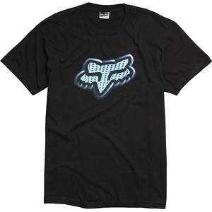 Fox Racing Lunatech T Shirt   Large/Black Automotive