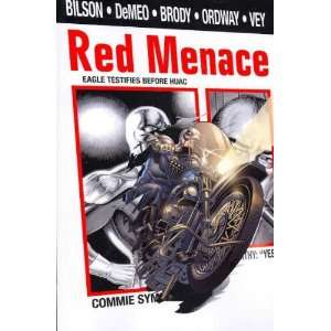 Red Menace[ RED MENACE ] by Bilson, Danny (Author) Oct 01