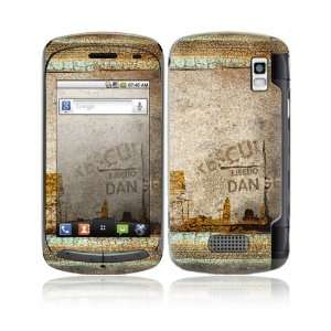 Danger Design Decorative Skin Cover Decal Sticker for LG Genesis US760