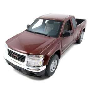 2004 GMC Canyon Burgundy 118 Diecast Model Car  Toys & Games