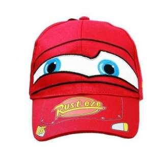 Disney PIXAR CARS Hat   Lightning McQueen kids Baseball Cap  Toys