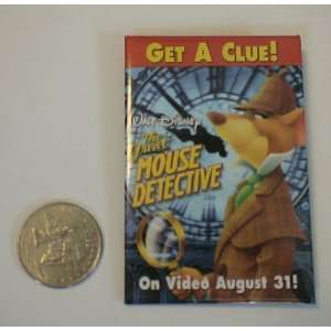 Disney the Great Mouse Detective Promotional Button