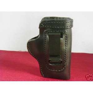 Bersa 380 Pro Carry HD CCW IWB Leather Gun Holster Black: