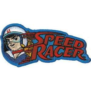 Speed Racer name logo iron on patch applique
