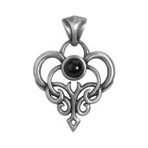Eternal Heart Pendant Collectible Medallion Necklace Accessory Jewelry