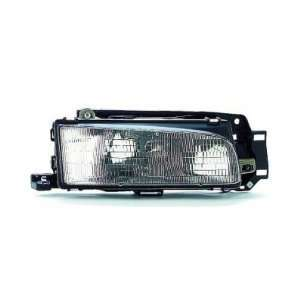 1994 94 MAZDA PROTEGE HEADLIGHT, PASSENGER SIDE
