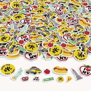 Taxi Cab Hotdog Empire Liberty Apple Pizza Pretzel Toys & Games