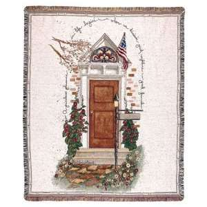 Good Neighbor Good Friend Tapestry Throw 50 x 60