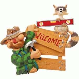 Handyman Welcome Sign