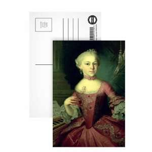 Maria Anna Mozart, called Nannerl(1751 1829), sister of