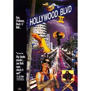 Hollywood Boulevard 2 Movie Poster (11 x 17 Inches   28cm