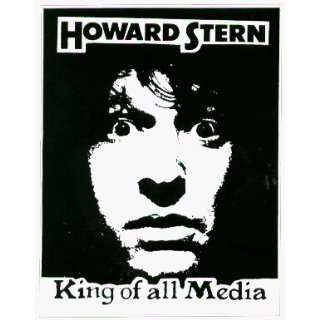Howard Stern   King of All Media   Sticker / Decal