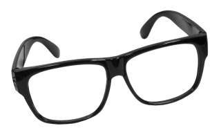 Black Glasses Frames  Nerd Costume Glasses