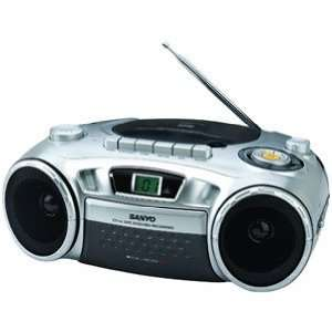 MCD XJ790   PORTABLE CD RADIO CASSETTE RECORDER PLAYER CD R/CD RW/CD