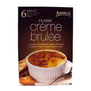 Auntys Creme Brulee Dessert Mix