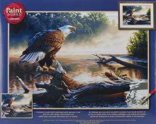 paint by number kit 20 x14 eagle hunter dimensions paint works paint