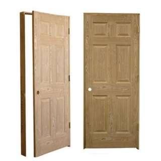Pre Hung Interior Wood Doors On Popscreen Solid Wood Six Panel Interior  Doors