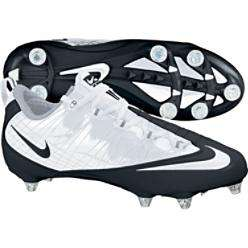 Nike Zoom Vapor Fly Wht/Blk Low Detach Football Cleat
