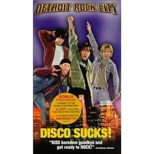 Detroit Rock City [VHS] Edward Furlong, Giuseppe Andrews