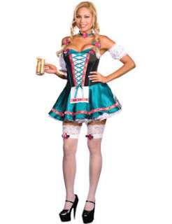 Plus Size Womens Heidi Hottie Costume  Jokers Masquerade