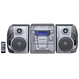 Sharp CD E600 3 Disc Changer Shelf System Electronics