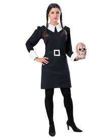 The Addams Family Wednesday Addams Adult Costume