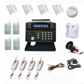 GSM Wireless Home Security System + Alarm Auto Dial + 24 Wireless Zone