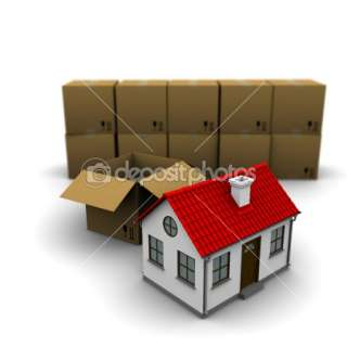 House from a cardboard box  Stock Photo © Kirill Cherezov #5227023