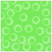 Circle design in green. Retro pattern. Custom Acrylic Cut Outs by