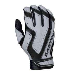 Easton Omen Adult Batting Gloves   XL White/Red