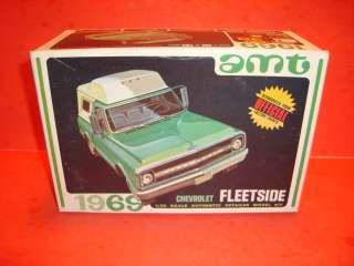 AMT 1969 Chevy Fleetside Pickup Truck Unb. Model Car Kit