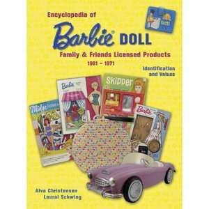 Encyclopedia of Barbie Doll Family Friends Licensed Products, 1961
