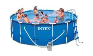 Intex Above Ground 15 X 48 Frame Set Swimming Pool       PLUS BONUS