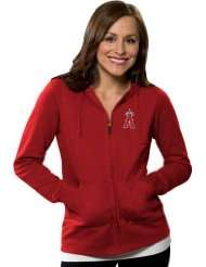 Los Angeles Angels of Anaheim Womens Dark Red Signature Full Zip