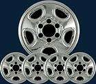 99 08 Chevrolet Silverado / Astro & GMC Sierra Chrome Wheel Skins IMP