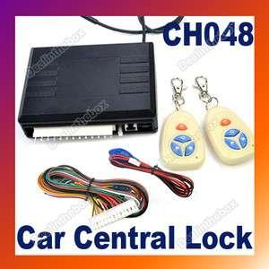 Car Remote Central Lock Locking Keyless Entry Kit System CH048
