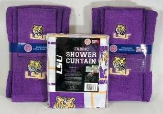 Atlanta Braves 7 Piece Shower Curtain And Bath Accessory Set