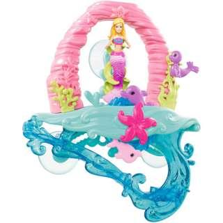Barbie in A Mermaid Tale 2 Surf to Sea Bath Play Set: Dolls