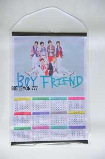 BOYFRIEND Korean Boy Band 2012 Wall Calendar C1