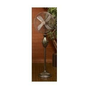 Deco Breeze Fleur De Lis Floor Fan Heating, Cooling