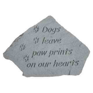 Garden Stone   Dogs leave pawprints.Opens in a new window