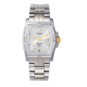 Bulova Wrist Watches   Bulova Marine Star Mens Silver