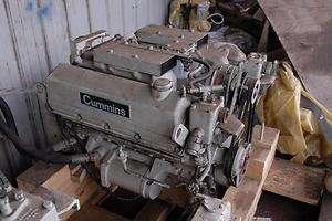 Cummins V 555 M marine diesel engine   complete