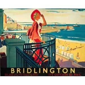 Andrew Johnson   BRIDLINGTON BEACH Canvas