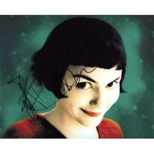 Audrey Tautou Amelie Rare French Actress Excellent Autographed Signed