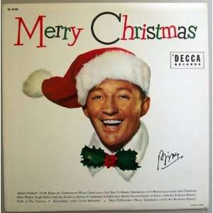 Vintage Bing Crosby Merry Christmas Jukebox 45 With