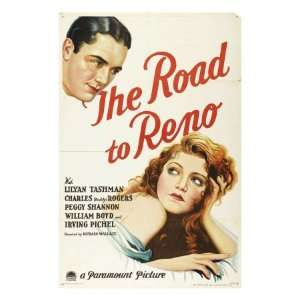 The Road to Reno, Charles Buddy Rogers, Lilyan Tashman
