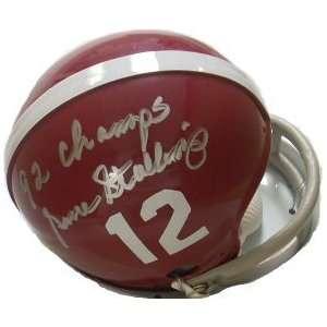 Gene Stallings Alabama Crimson Tide Mini Helmet 92 National Cham